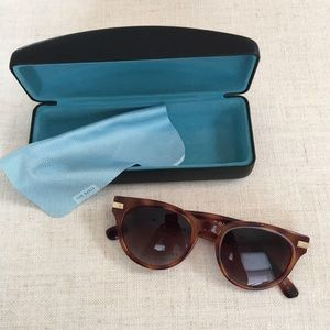 Cole Haan tortoise shell polarized sunglasses